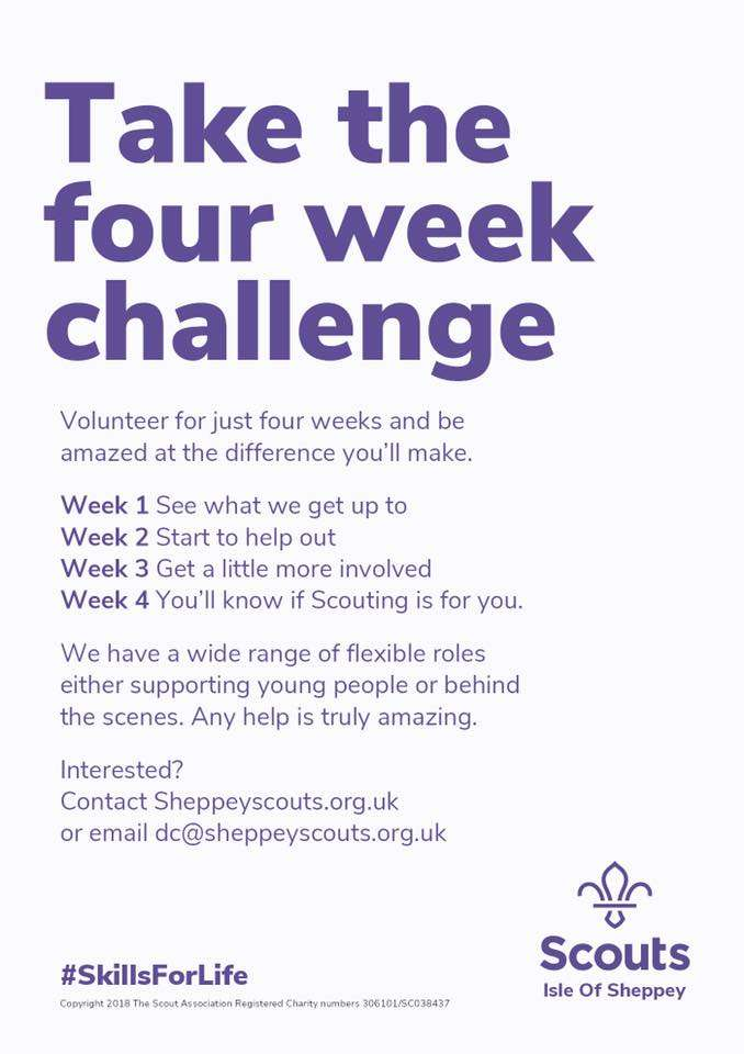 Take the four week challenge